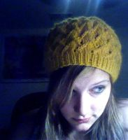 Yellow Lotus Beanie by eckabeck