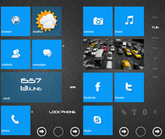 Launcher WP7 PRO + by SF2Gcrew