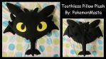 Toothless Pillow Plush by PokemonMasta