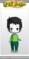 ChibiMaker Microsoft Mike is sad :( by tigerclaw64