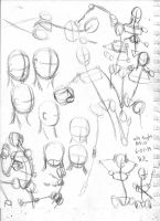 Free Women poses (Free to use) by SnowWolf10