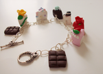 Cake charm bracelet by FairysLiveHere