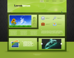 Just a Green Layout V2 by cestnms
