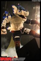 Weregarurumon kick by Gado