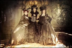 Ladies .....   Victorian fantasy   WGT by S-T-A-R-gazer