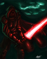 Sith Destroyer by SeanRM