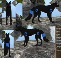 FH Free Shiny Umbreon Preset by VampVixen