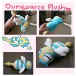 Pokemon DUNSPARCE pokedoll plush by scilk