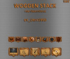 wooden stack by Uriy1966
