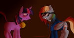 Ask Blind Dash Giftart by My-little-Brony
