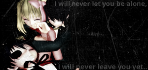 I will never leave you... by animelover876
