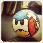 Sonic Spinball Ping Pong Ball by HeavyMetalGear