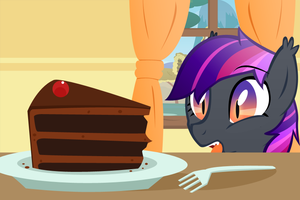 I WANT THAT CAKE by Night-Wolf122