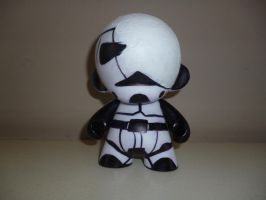 Hurt Stormtrooper munny by DreamingOnlyOfYou