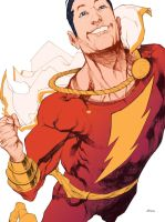Shazam colors by bbrunoliveira