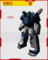 AUTOBOT GAMBLER by F-for-feasant-design