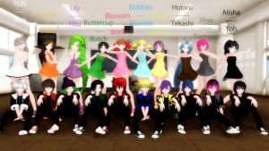 Completed Roster by Tsuna178