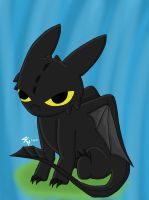 Toothless by Artistic-Winds