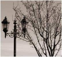 Faded Street Lamp by Bloody-Medium