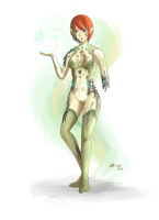 Ancient android Seizei Lizel by Waffle0708