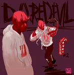 daredevil redesign (adventures in sai pt i) by BrightObject