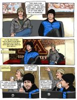 Golden Gophers page 1 by zombiepencil