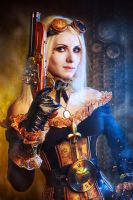 Steampunk Shooter by Elena-NeriumOleander