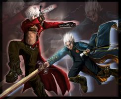 The Sons of Sparda by thelegendoflauri