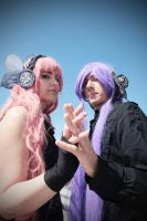Kamui Gakupo And Megurine Luka Magnet Version by MinatoCosplay