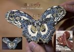 Mosaic Butterfly by Beauty-of-love