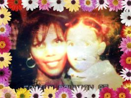 Me and Mom: Family Reunion '97 by Stlbluesgirl101