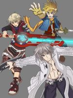The Last Golden Xenoblade by WolfTotem1