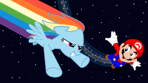 Super Rainbow Galaxy by MisterBrony