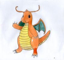 Dragonite by IruzaNadiru