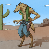 Cowboy Gnoll by FicusArt