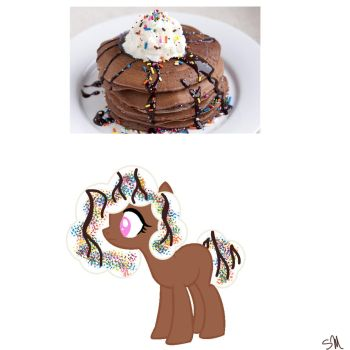 Chocolate  Pancake Pony 5 points CLOSED by QueenBatgirl