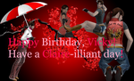Happy Birthday Vicky Redfield! by biohazardrocks1
