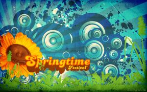 wallpaper - springtime 02 by stuntarts