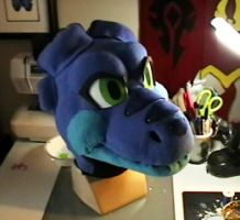 New dragon head by DragonCid