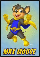 MAX MOUSE, Son of Mighty Mouse by mitofox