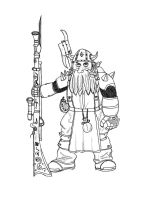 Dwarf rifleman by zaku1986