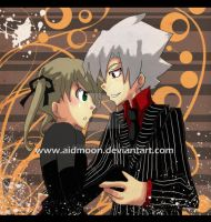 . Soul and Maka 2 . by aidmoon