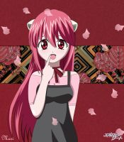 Elfen lied-Cherry tree by Ukyo-Ku