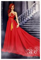 The Magic Red Dress Project by Nigelchia