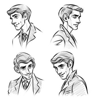 Victor Sketches by whimsycatcher