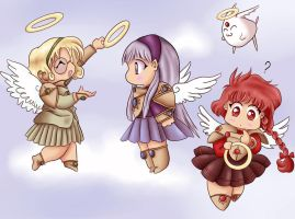 Magic Knights chibi by x--lalla--x