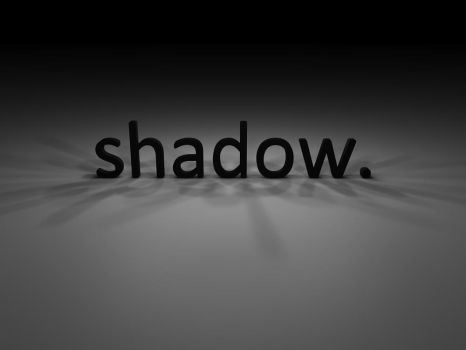 shadow. by hannarb