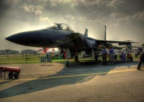 Illuminated Airforce-HDR by Metallifreaknate
