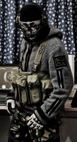 MW2 Ghost Final Estate Gear Update by thechevaliere