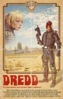 DREDD by smalltownhero